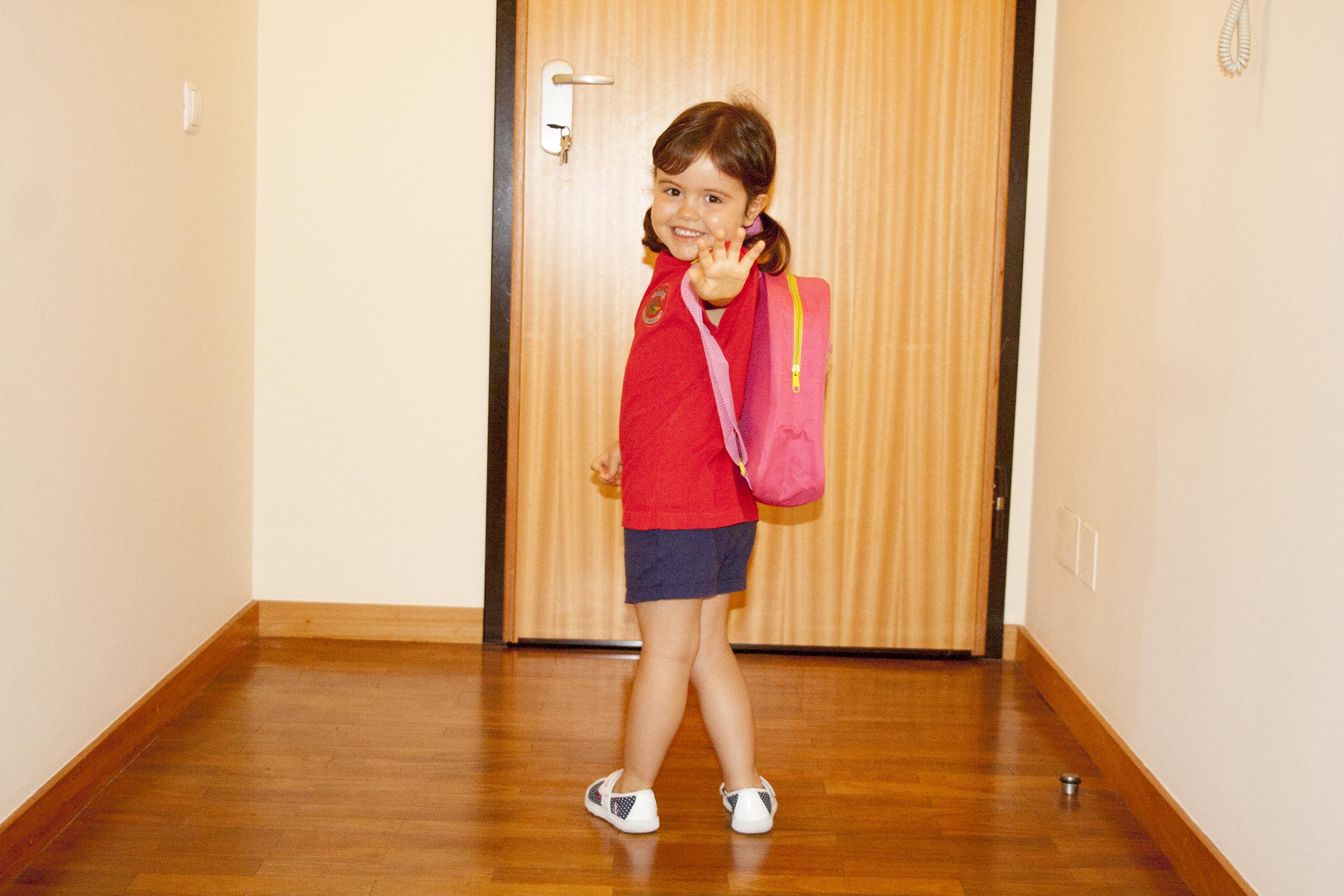 1º dia escola