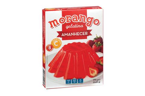 Gelatina Morango